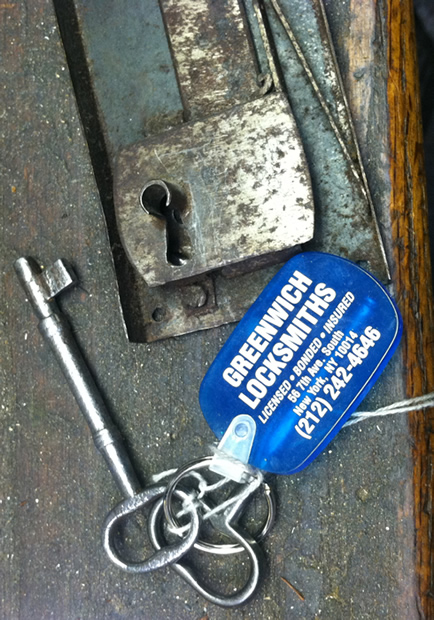 Greenwich Locksmiths makes keys for all kinds of antique locks