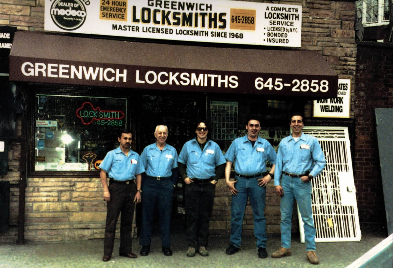 Greenwich Locksmiths has been providing commercial and residential locksmith services to NYC for over 40 years