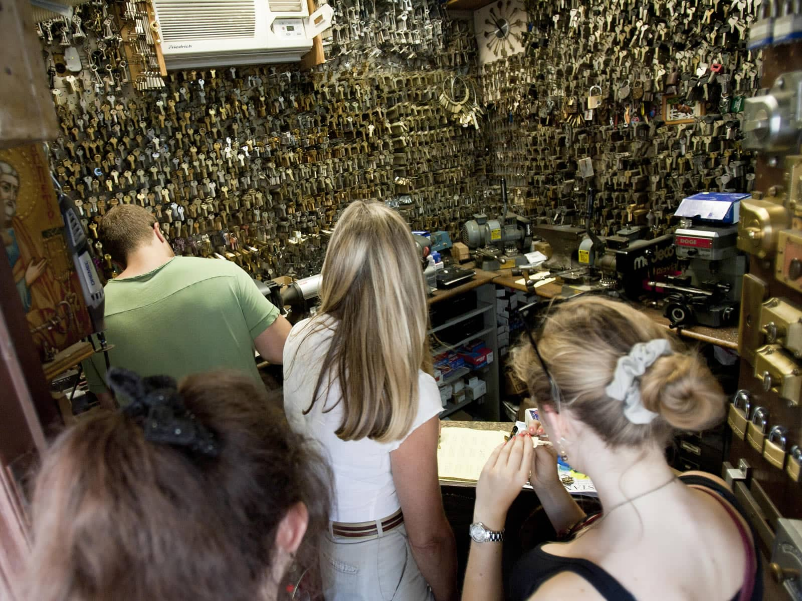 Greenwich Locksmiths provides key cutting services in our West Village locksmith shop in NYC