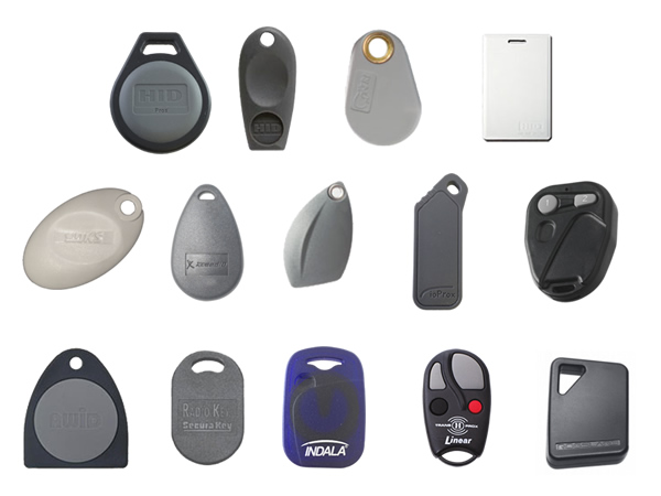 Greenwich Locksmiths clones a large assortment of RFID key fobs