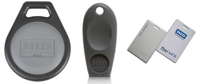 Greenwich Locksmith copies HID Prox, MicroProx and ProxCard II format key fobs as well as others